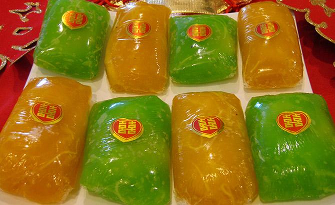 Đặc sản bánh Phu Thê Đình Bảng