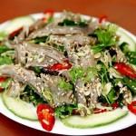 Tái dê - đặc sản Ninh Bình