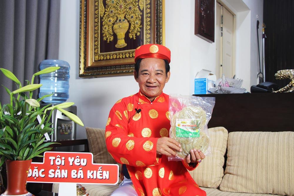 Nghệ sĩ Quang Tèo đánh giá cao chất lượng Cá bò khô Bá Kiến