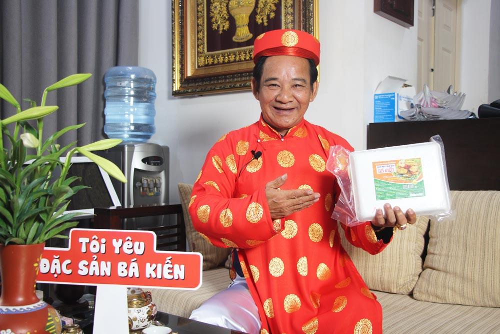 Nghệ sĩ Quang Tèo đánh giá cao chất lượng Chả mực Bá Kiến