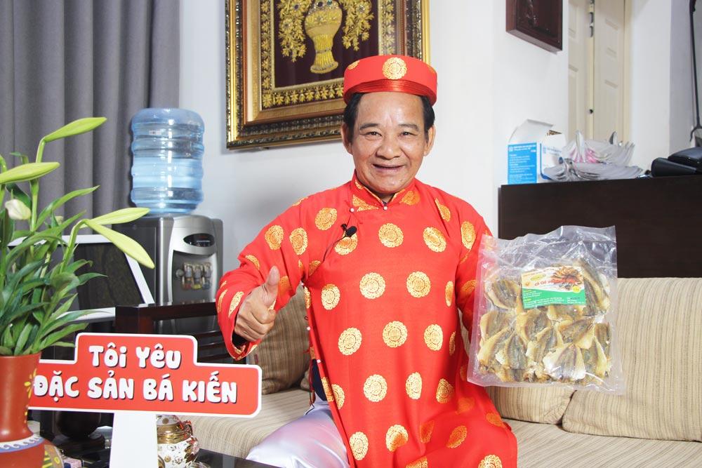 Nghệ sĩ Quang Tèo đánh giá cao chất lượng Cá chỉ vàng Bá Kiến