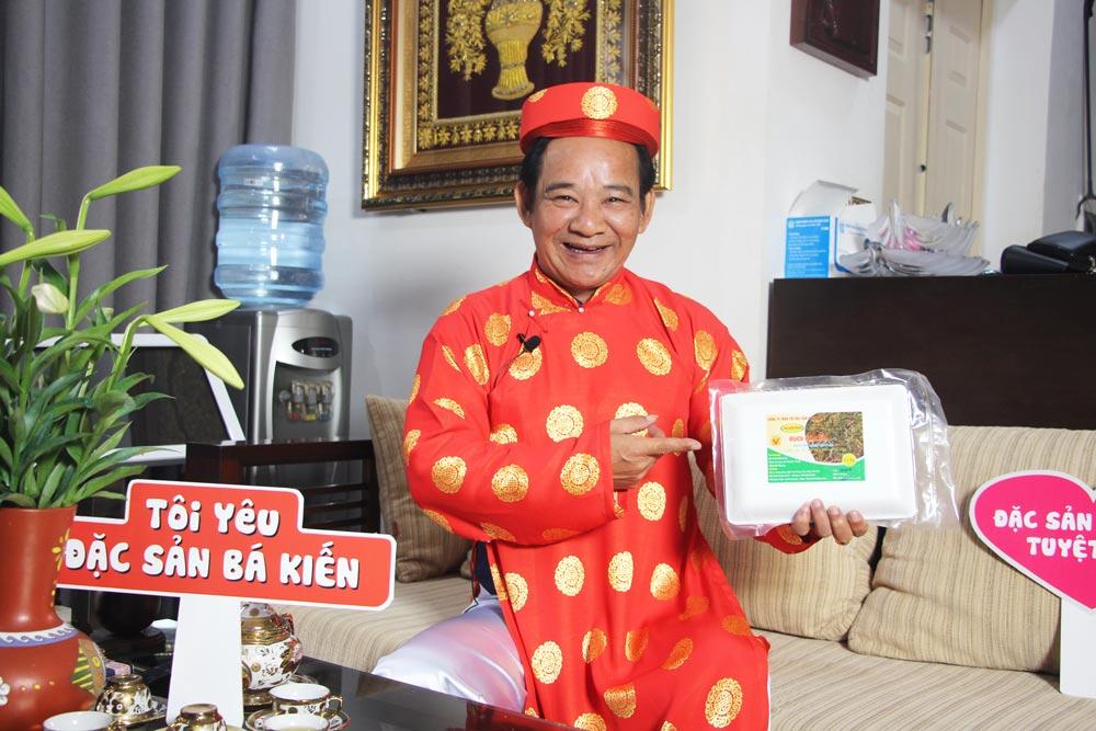 Nghệ sĩ Quang Tèo đánh giá cao chất lượng Rươi tươi Tứ Kỳ