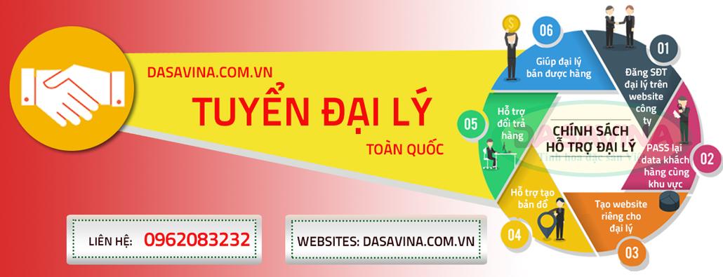 Dasavina tuyển đại lý bán hàng trên toàn quốc